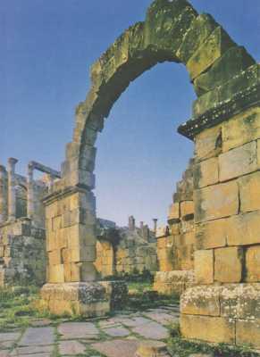 DJEMILA - Les ruines