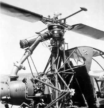Gros plan sur le moteur du Djinn