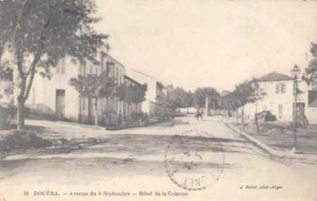 DOUERA - Avenue du 4 septembre