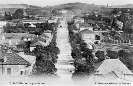 DOUERA - La Grande Rue