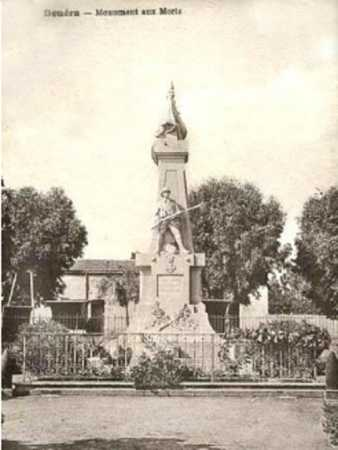 DOUERA - Le Monument aux Morts