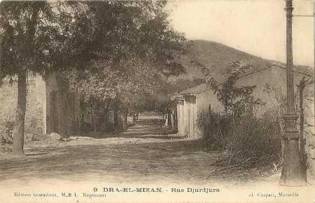 DRA-EL-MIZAN - Rue du Djurdjura