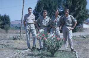 Dragons en fin de Service Militaire en 1962
