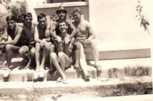 Groupe d'infirmiers en 1963