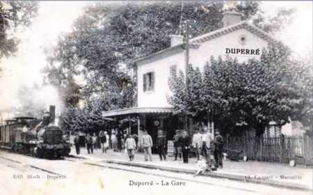 DUPERRE - L'ancienne Gare