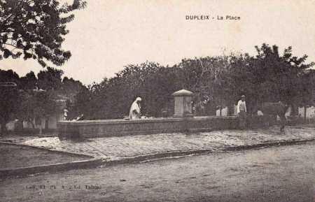 DUPLEIX - La Place en 1890