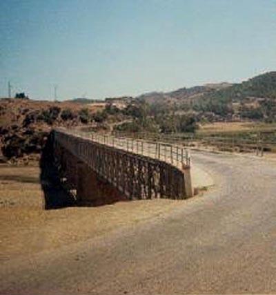 DUPLEIX - Pont sur l'Oued Damouss