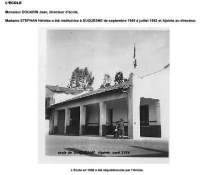 DUQUESNE - L'Ecole