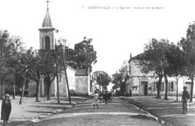 DUZERVILLE - Avenue de la Gare
