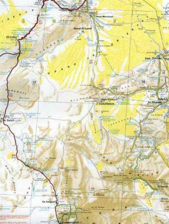 EL GOLEA - IN SALAH - EDJELEH - FORT FLATTERS