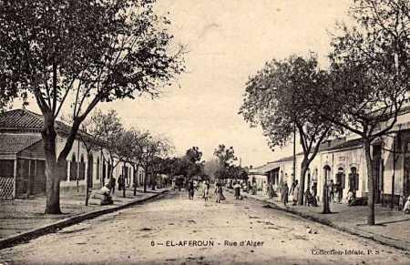 EL AFFROUN - La Rue d Alger