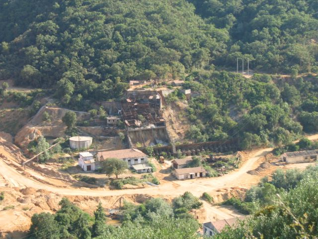 La mine d'EL-HALIA
