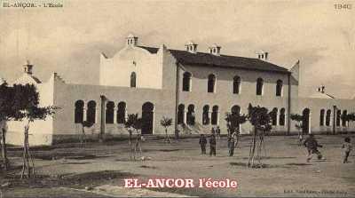 EL ANCOR - Ecole vers 1940