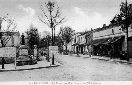 EL KSEUR - Le Monument aux MORTS