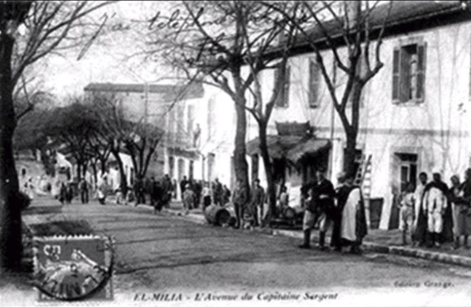 EL MILIA - Avenue du Capitaine SERGENT