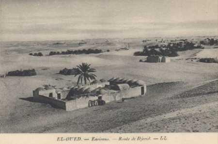 Les environs d'EL OUED