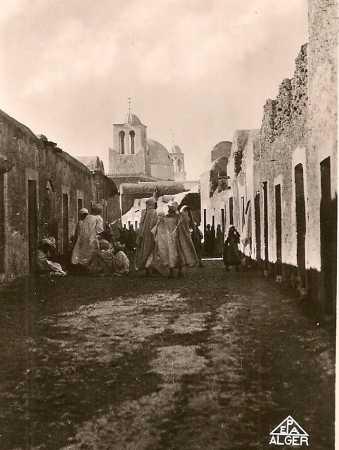 EL OUED - La Rue Principale