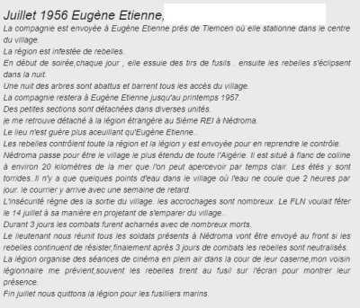 EUGENE-ETIENNE - Juillet 1956
