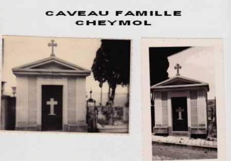 Caveau de la Famille CHEYMOL