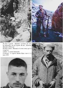 Fin de la Katiba 321  ---- Le Caporal Antoine ROJAS mort le 22 Mars 1959