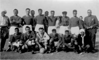 FLEURUS 1958 - L'Equipe de Foot