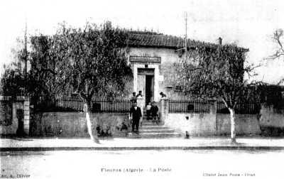FLEURUS - La Poste