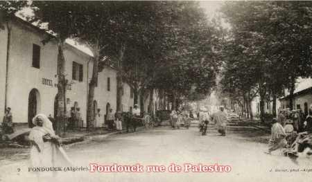 FONDOUK - Rue de Palestro