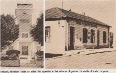 LE FONDOUK - La Mairie et La Poste