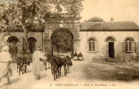 FORT-NATIONAL - Porte de TIZI-OUZOU