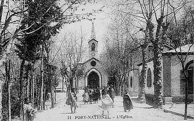 FORT-NATIONAL - L'Eglise