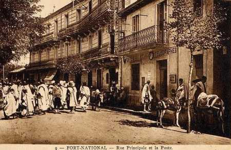 FORT-NATIONAL - La Rue Principale