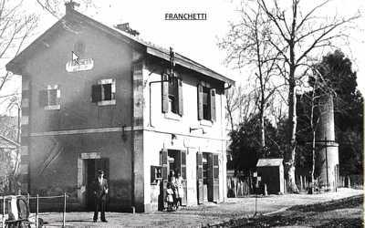 FRANCHETTI - La Gare
