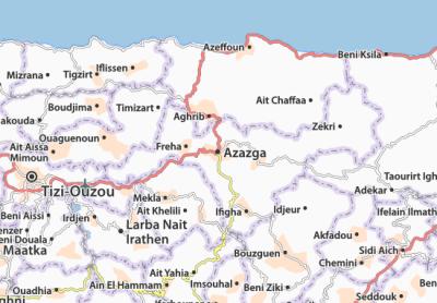 AZAZGA - FREHA - TIZI-OUZOU