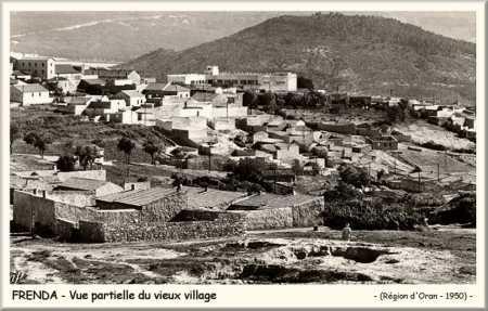 Le vieux village de FRENDA