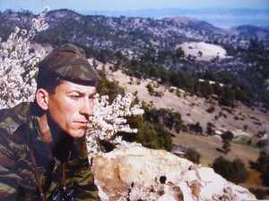 Sous lieutenant Marc LANCREY dans l'Ouarsenis Photo Marc Lancrey