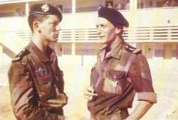 Lieutenant TRAMONI  et Capitaine SOUETRE