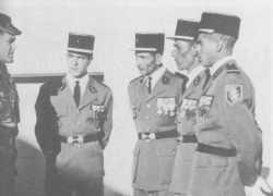 Quatre S/Ltn chefs de katiba.  SMAIN - HABIB - BENDIDA - RIGUET