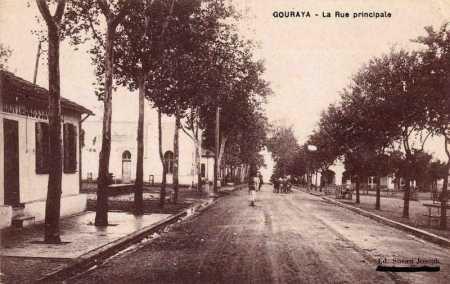 GOURAYA - La Rue Principale vers 1900