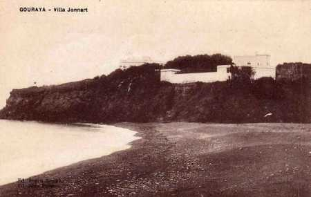 GOURAYA - La Villa Jonnart en 1900