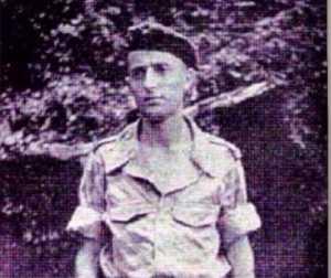 Lieutenant Jean-Marie Guillaume premier chef du commando en 1956