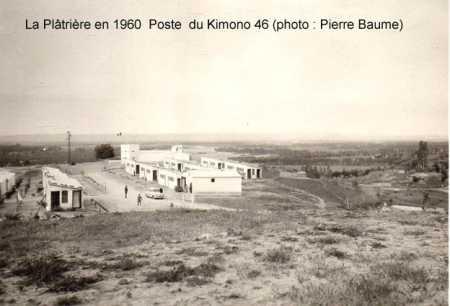 HAMMAM-MELOUANE - LA PLATRIERE  en 1960 - Poste de Kimono 46