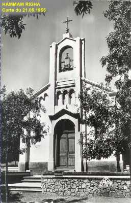HAMMAM-RIGHA - L'Eglise