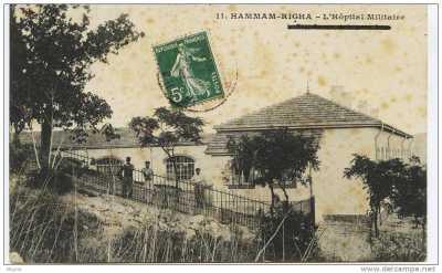 HAMMAM-RIGHA - L'Hopital Miitaire