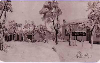 HAMMAM-RIGHA sous la neige