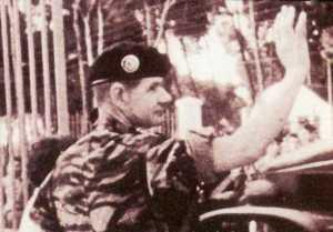Commandant de Saint Marc au moment du putsch d' avril 1961.
