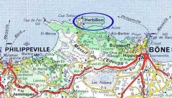 HERBILLON - Carte