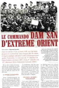 Highlight for Album: Epopée du Commando DAM SAN
