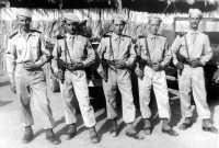 MDL BERRARD et la garde en 1958 Photo Berrard