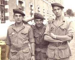 Paras de la classe 1959 2/A en France  en septembre 1959