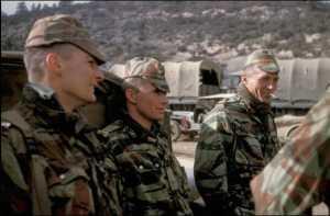 Lieutenants KULTERER, LIONNET, RUELLET